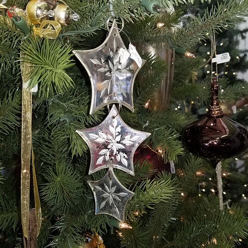 Long Antique Drop Star Ornament
