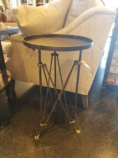 Bronze Metal Drink Table