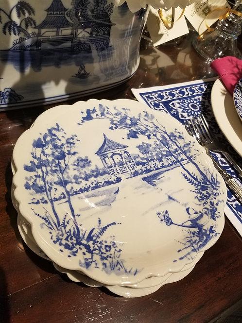 Gardenscape Toile Dishes.