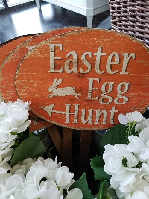 Egg Hunt Stake