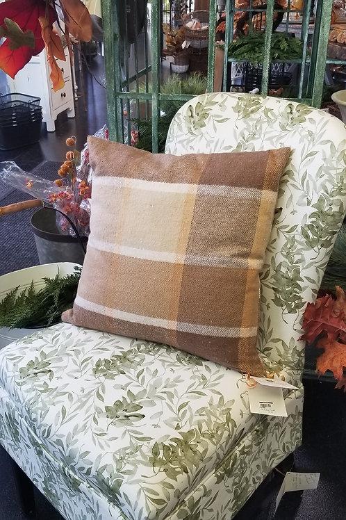 "18"" Square Cotton Pillow"