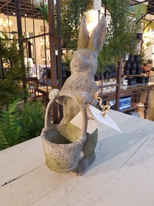 Mossy Rabbit w/ Basket