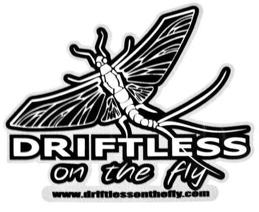 Driftless on the Fly Decal