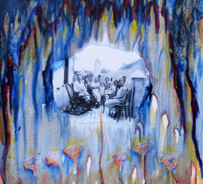 Teatro-di-Desierto-(Theatre-of-the-Desert)-----------Acrylic-and-oil-on-canvas------------