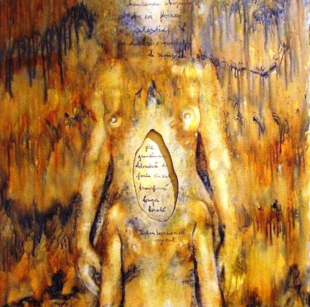 4. E toren di Babylon  Acrylic on canvas 122 x 152 cm            2005.jpg