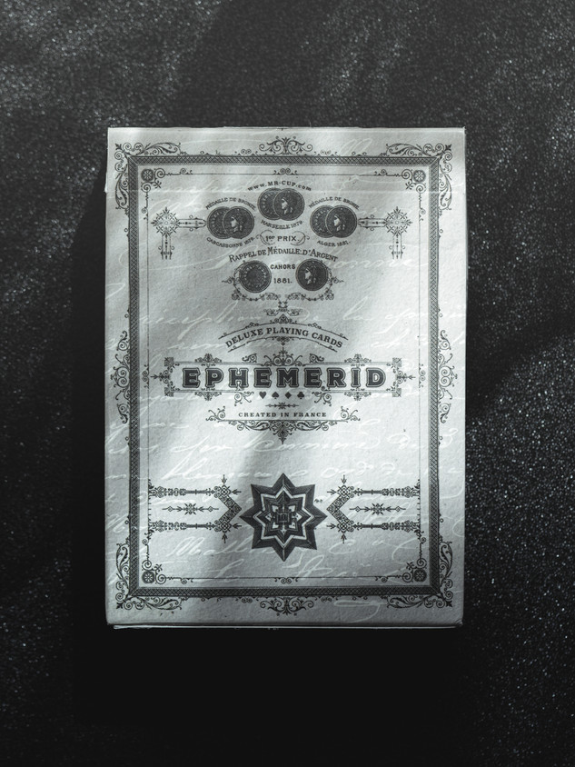Ephemerid Playing Cards