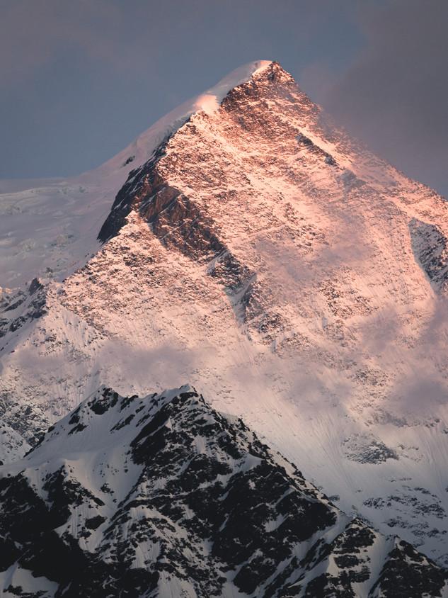 Sunset - Chamonix