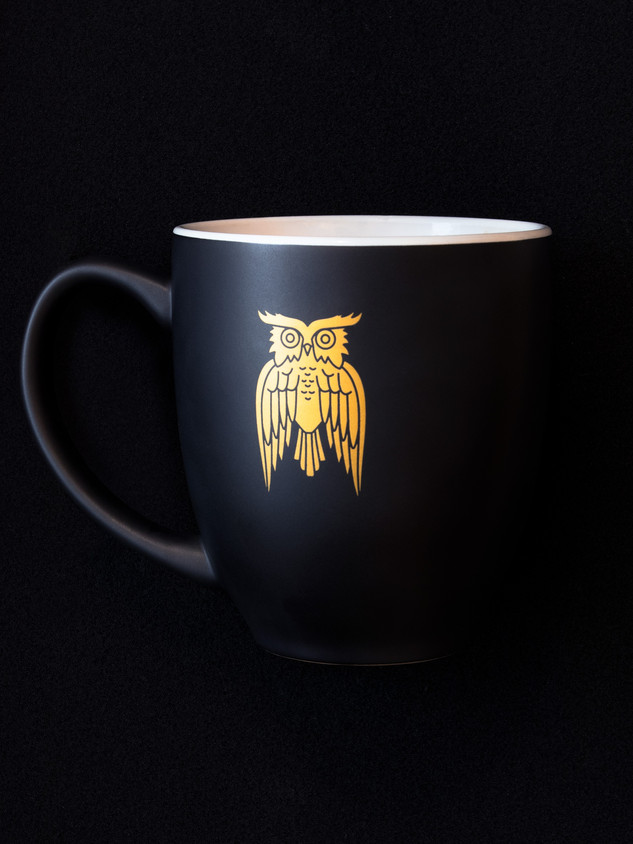James's Coffe Co - Owl Mug