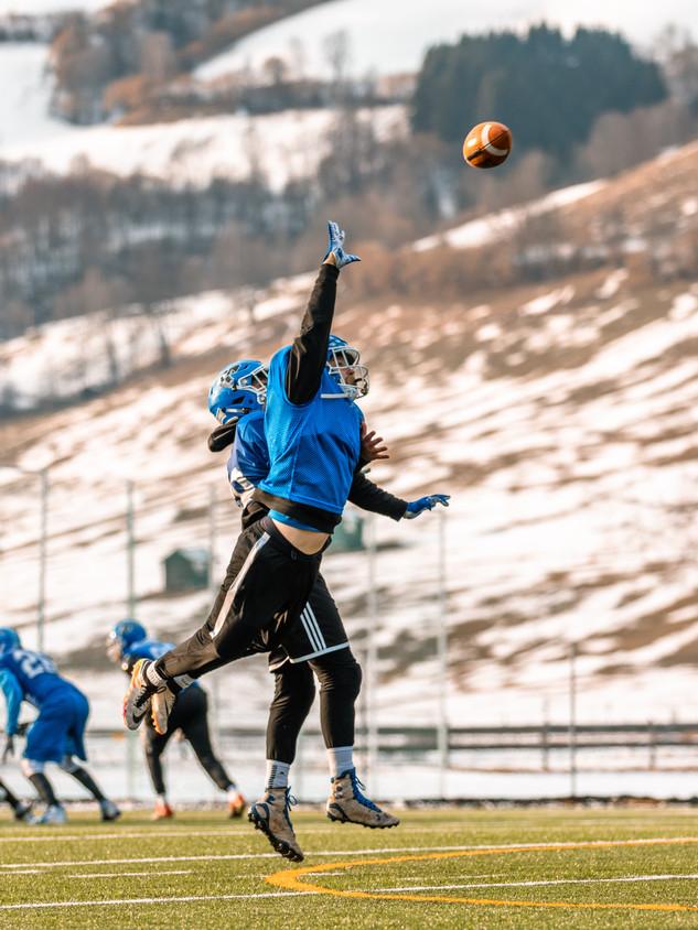 American Football Training Camp 2020