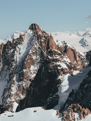 Views from Aiguille du Midi