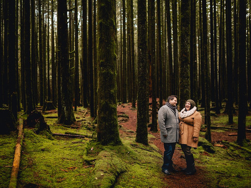 ALOUETTE LAKE ENGAGEMENT SESSION | CAITLYN & ROB