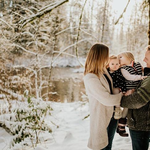 WINTER FAMILY SESSION | DAVIS FAMILY