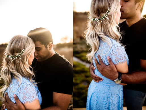 CENTENNIAL BEACH ENGAGEMENT | SYLVIA & SEAN