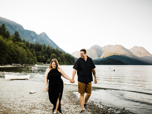 ALOUETTE LAKE ENGAGEMENT | MICHELLE & AARON