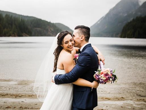 WESTWOOD PLATEAU GOLF COURSE WEDDING | LAURA & VINCE