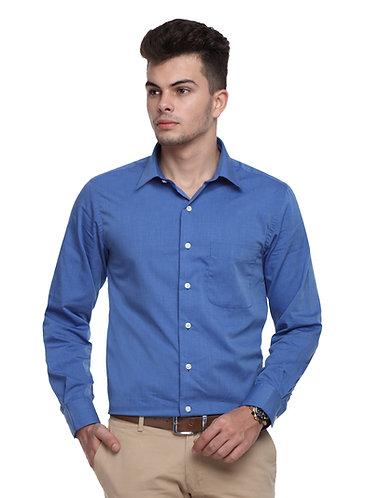 Arrow Auto press Royal Blue Shirt