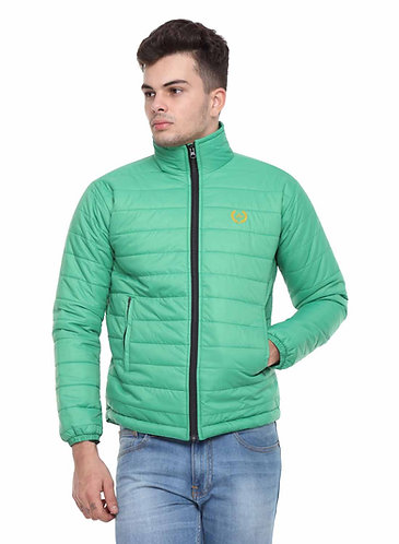 Arrow Quilted Green Jacket