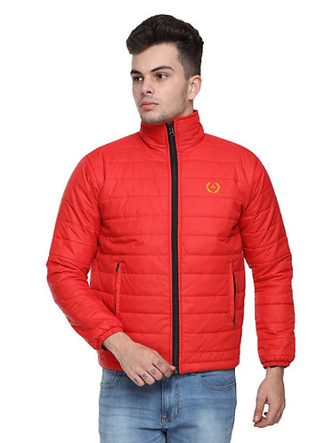 Arrow Quilted Red Jacket