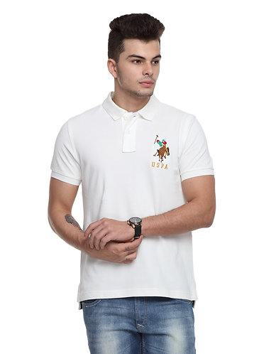 USPA Ivory Tshirt
