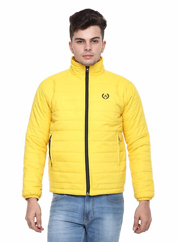 Arrow Quilted Yellow Jacket