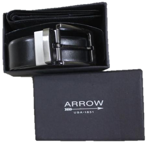Arrow Belt and Wallet Set
