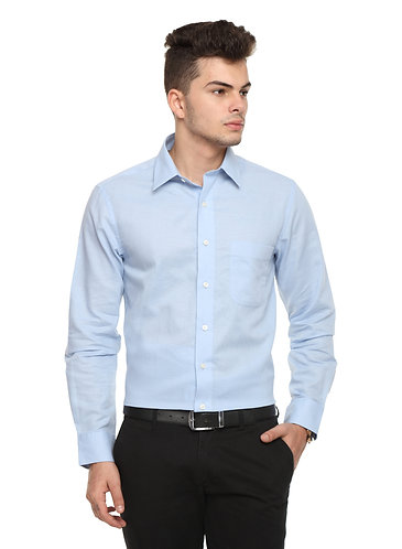 Arrow Auto press Light Blue Shirt
