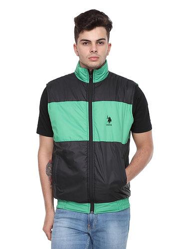 US Polo Reversible Jacket (Green-Black)