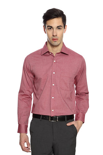 Arrow Unstainable Brick Red Shirt