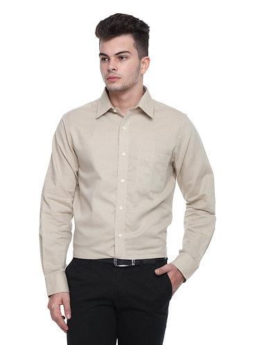 Arrow Brown Linen Shirt