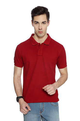 USPA Men's/Women's Dark Red Tshirt