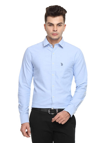 USPA Semi-formal Light Blue Shirt