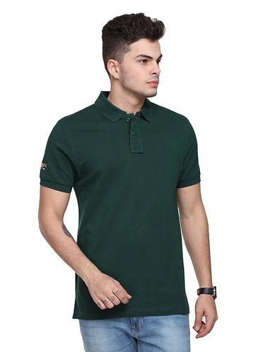 USPA Men's/Women's Bottle Green Tshirt