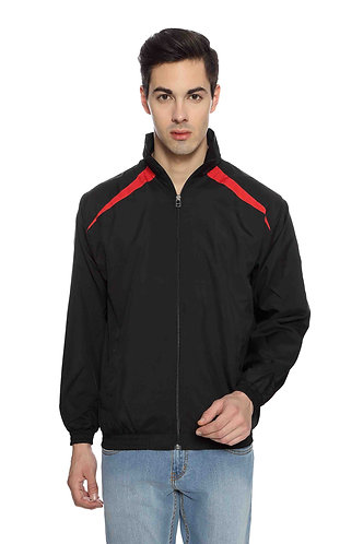 US Polo Unisex Black & Red Jacket