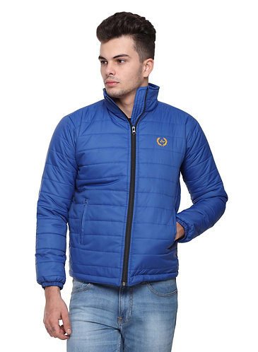 Arrow Quilted Royal Blue Jacket