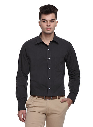 Arrow Easy care Black Shirt
