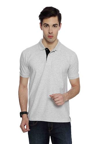 IZOD White Melange Tshirt