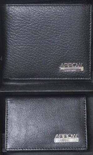 Arrow Wallet and Cardholder Set