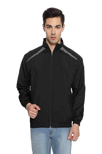 US Polo Unisex Black & Grey Jacket