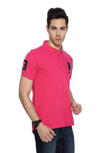 USPA Men's Pink Tshirt