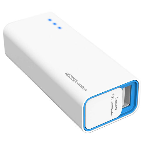 Portronics Emergency Mobile Charger 2600 mAh