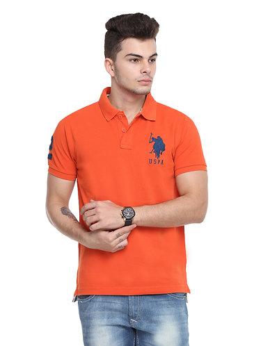 USPA Men's Orange Tshirt
