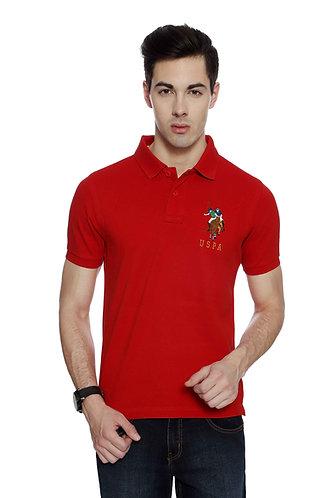 USPA Men's Red Tshirt