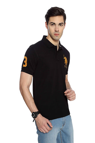 USPA Men's Black Tshirt