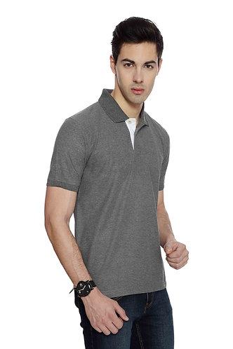 IZOD Men's/Women's Charcoal Melange Tshirt
