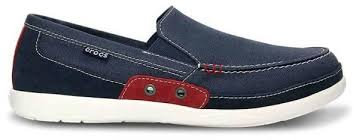 Crocs Walu Accent Navy Loafer