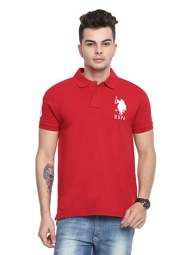 USPA Men's Red TShirt