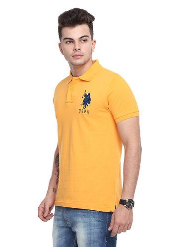 USPA Men's Apricot Tshirt