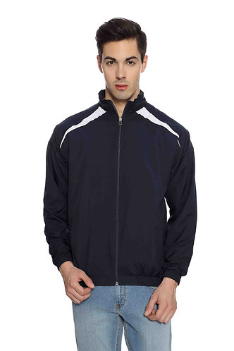 USPA Unisex Navy Blue & White Jacket