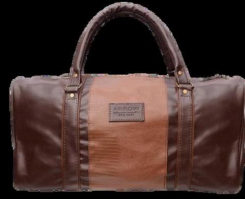 Arrow Brown Duffle Bag