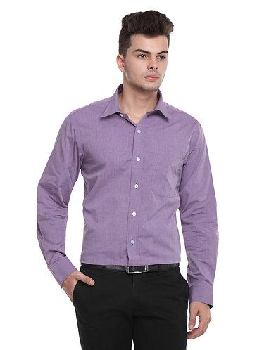 Arrow Easy care Purple Shirt